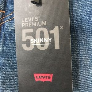 Levi's Jeans - Levi's 501 we the people skinny jeans